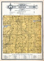 Saxeville Township, Waushara County 1914